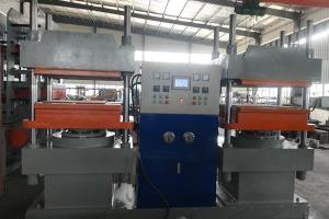 Duplex Rubber Vulcanizing Machine