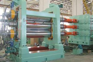 Four Roll Rubber Calendering Machine